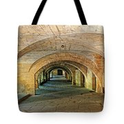 Arched Walkway In Provence Tote Bag