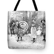 Archery, 1886 Tote Bag