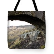 Arches And Mountains Tote Bag