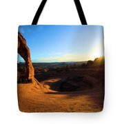 Arches Starburst Tote Bag