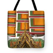 Architectural Detail Of Wat Pho Temple Tote Bag