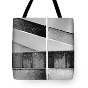 Architecture 1 In Black And White Tote Bag