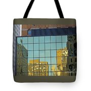 Architecture Awry Tote Bag