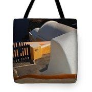 Architecture Santorini Tote Bag