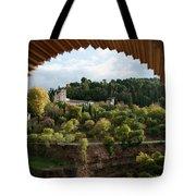Archway Frame Tote Bag by Lorraine Devon Wilke