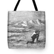 Arctic: Bear Hunting, 1871 Tote Bag