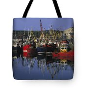 Ardglass, Co Down, Ireland Fishing Tote Bag