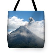 Arenal Eruption Tote Bag