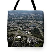 Ariel View Of Orlando Florida Tote Bag