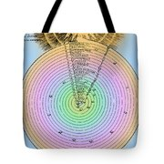 Aristotlelian And Christian Cosmologies Tote Bag by Science Source