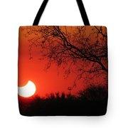 Arizona Eclipse At Sunset Tote Bag
