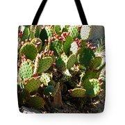Arizona Prickly Pear Cactus Tote Bag