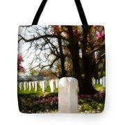 Arlington Cemetary Tote Bag
