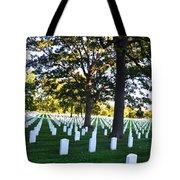 Arlington Cemetery Graves Tote Bag