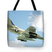 Armed And Dangerous Tote Bag by Methune Hively