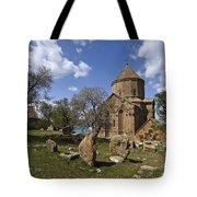 Armenian Church On Adkamar Island Tote Bag