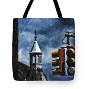 Armory And The Lights Tote Bag