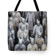 Army Of Terracotta Warriors In Xian Tote Bag