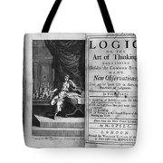 Arnauld & Nicole: Logic Tote Bag