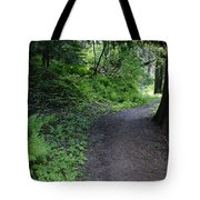 Around Another Bend In The Trail On Mt Spokane Tote Bag