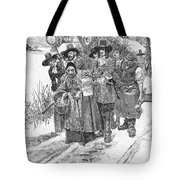 Arresting A Witch, 1692 Tote Bag by Granger