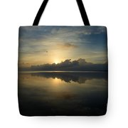 Arrow On The Horizon Tote Bag
