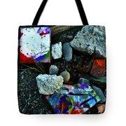 Art Amongst The Rubble Tote Bag
