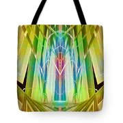 Art Deco Reredos Tote Bag