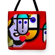 Art Lover Revisited Tote Bag