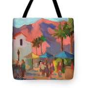 Art Under The Umbrellas Tote Bag