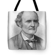 Arthur Cayley, English Mathematician Tote Bag