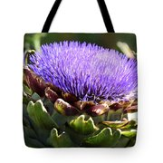 Artichoke Flower  Tote Bag
