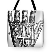 Artificial Hand Designed By Ambroise Tote Bag