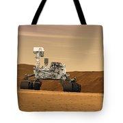 Artist Concept Of Nasas Mars Science Tote Bag