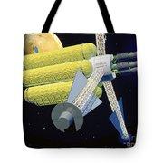 Artist Rendering Of A Large Plasma Tote Bag