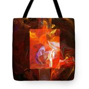 Artist World View Tote Bag