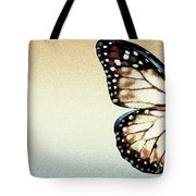 Artistic Butterfly Tote Bag