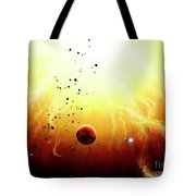 Artists Concept Of A Manned Expedition Tote Bag