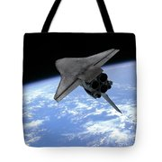 Artists Concept Of A Space Shuttle Tote Bag