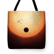 Artists Concept Of An Earth-sized Tote Bag