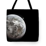 Artists Concept Of Earth As A Lifeless Tote Bag