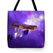 Artists Concept Of Space Interferometry Tote Bag
