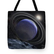 Artists Illustration Of An Extrasolar Tote Bag