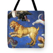 Artwork In Villa Farnese, Italy Tote Bag by Photo Researchers