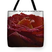 As I Have Loved You Tote Bag