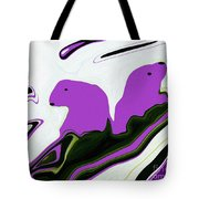 As The Ice Flows Tote Bag