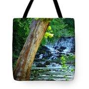 As The River Runs Through It Tote Bag