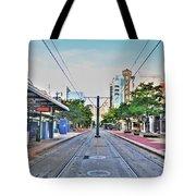As You Enter Downtown Buffalo Main St Tote Bag