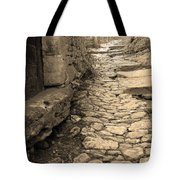 Ascent In Beynac France Tote Bag