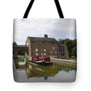 Ashby Canal At Moira Furnace Tote Bag